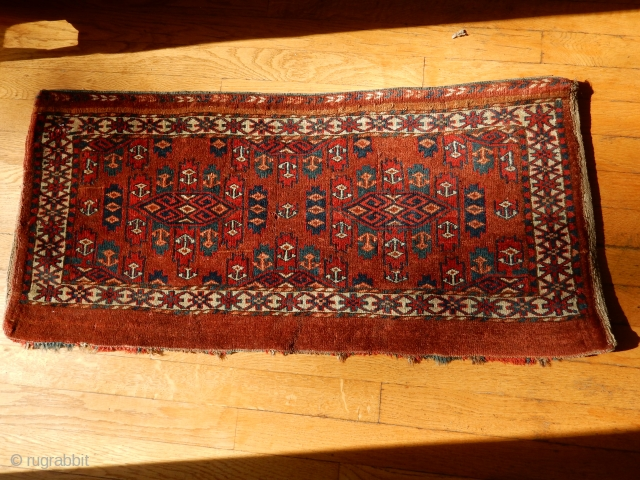 YOMUD YOMUT WITH FULL PILE AND COMPLETE WITH THE BACK - RED DYE SPECIAL-