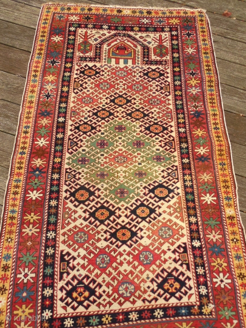 VERY GOOD CONDITION SHIRVAN 3 FT 6 X 5 FT 10 IN