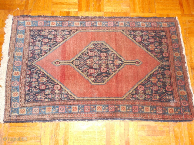 SENNEH SMALL RUG - EXCELLENT PILE - $300