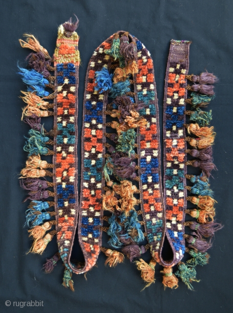 Baluch camel-band in very good condition.