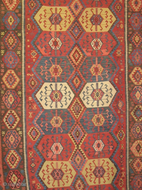 Kars kilim, cm 410x155, second half 19th century, all natural dyes, very good condition, a real collection piece. Plas ask for the price.