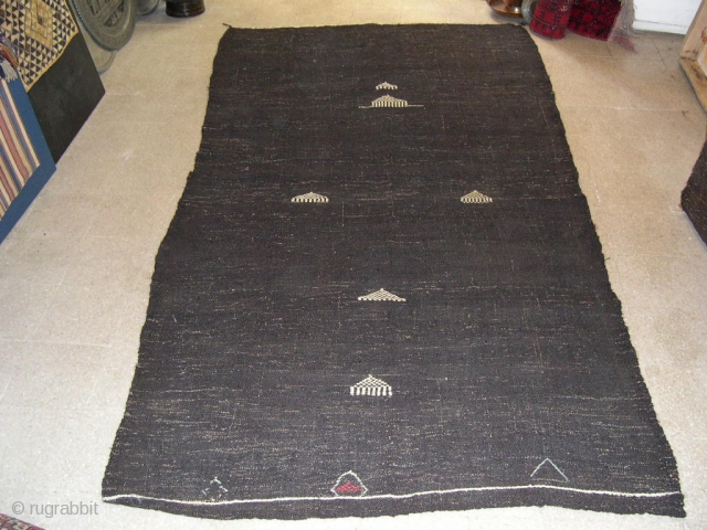 Kil Cul or Goat wool Kilim – cm 280x145 ca. or ft 9.1x4.7 - mid or early 20th century  - 