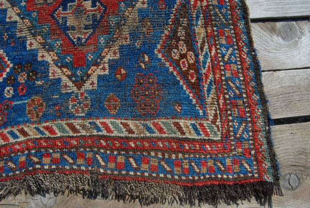 Luri long rug. Cm 68x233. Charming, tribal, wild, beaten up sweet rug from Fars area, Persia. Second half 19th century. --- Some twenty years ago I flew from Karachi to Quetta on  ...