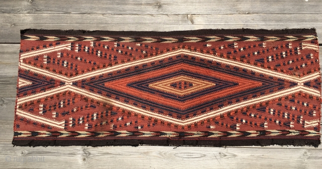 Turkmen Yomud tent/yurt band piece. Cm 35x93. Most probably early 20th century. A very nice decorative tribal art item.