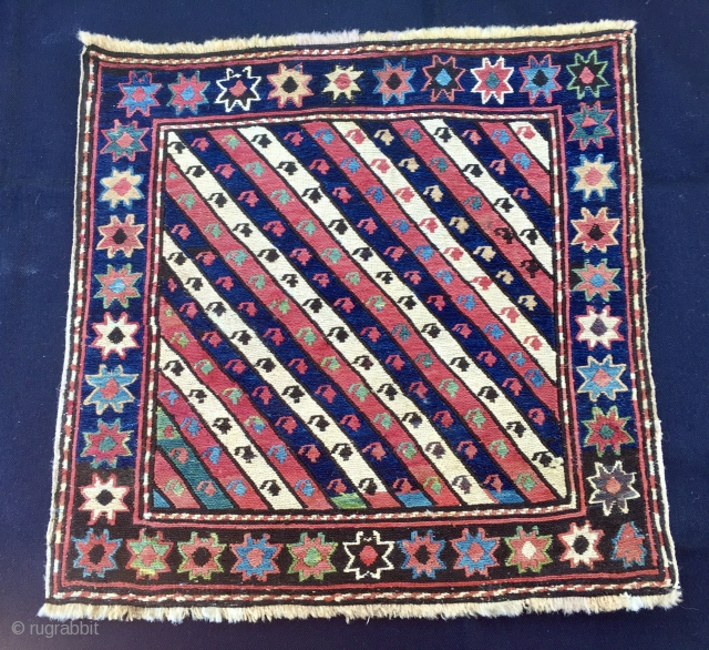 Shahsavan Sumack bag face. Great pattern, great weaving, great colors, great conditions. More infos, pics?