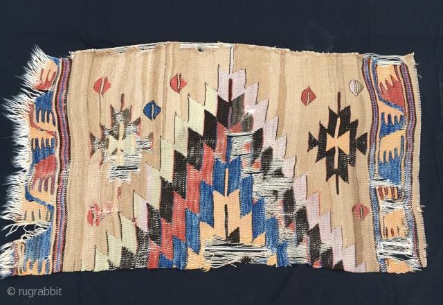 A lovely Anatolian kilim fragment