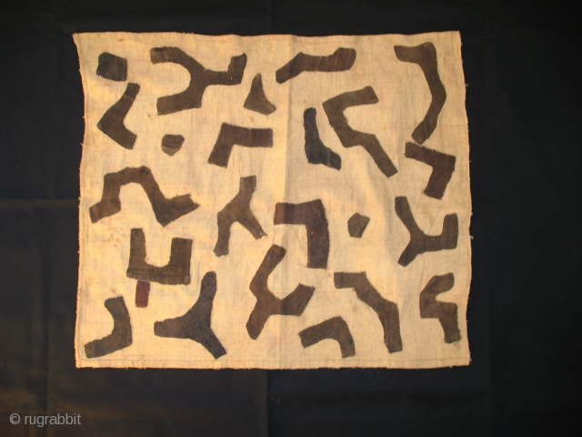 Shoowa raffia panels. Congo, first half 20th century.