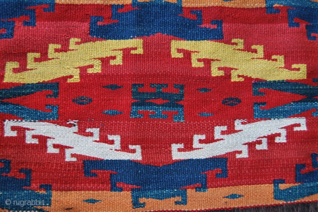 Uzbekh Ghudjeri fragment, late 19/early 20th century, cm 36x112, gorgeous colors, see pics for details: http://www.facebook.com/media/set/?set=a.10150347200789258.397668.358259864257&type=1