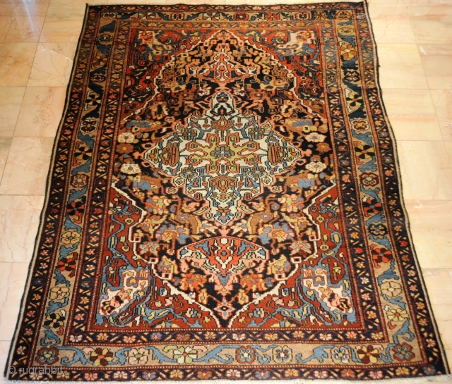 Old Persian Bahktiarey with Farhan Design. Circa 19th in Good Conditions 