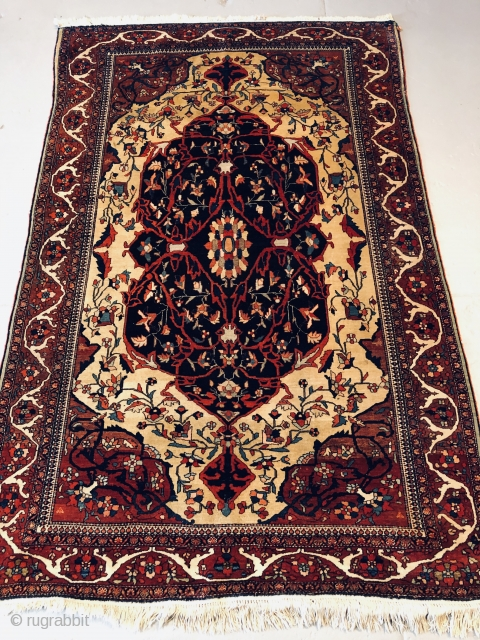 Nice Farhan circa 1900 in very good condition no repair size is 4.5x6.7 (137x204 cm)