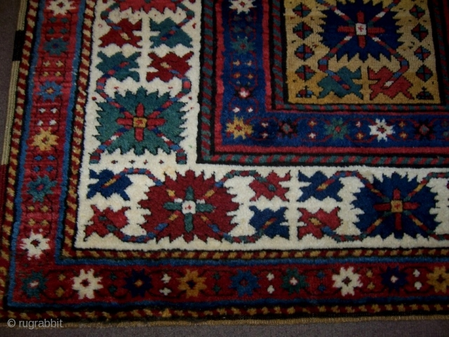 Kasak Rug 1,08*2,18 Good pile some repair's done