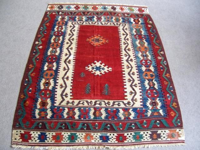 Turkish Karakuzulu Kilim 1,15*1,57