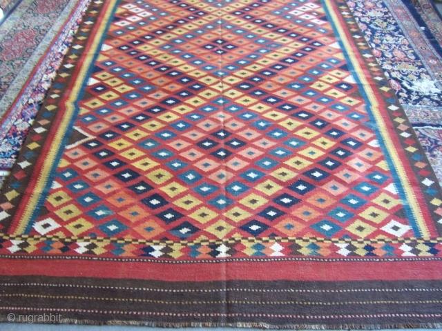 Huge Afghan Maimana Kilim 2,37*5,87