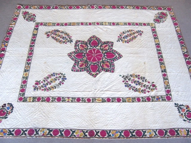 Antique Osbek Suzanni 1,77*2,05