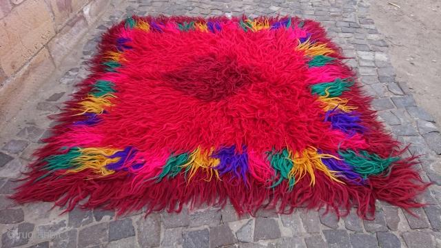 Turkish Kırklareli Area Gypsy tulü Fantactic colors size=214x190