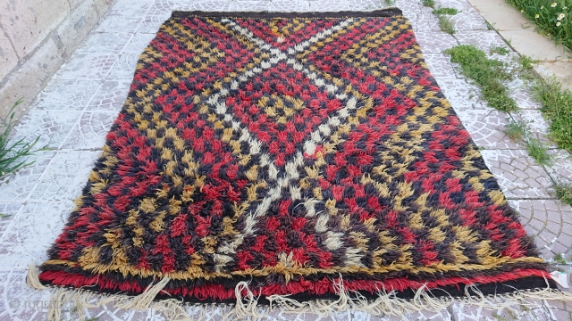 Anatolian Cappadocia yatak rug Size 225x170