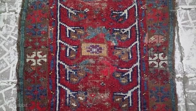 19thc West Anatolian yastık size=104x66