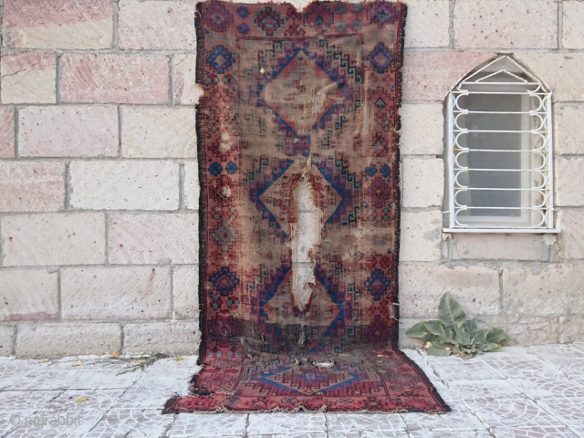 Anatolian Turkish Kapadokya rug Size 300*120