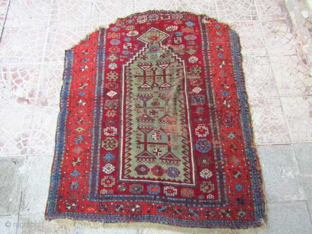 Anatolian Kurdish rug  size=145x116