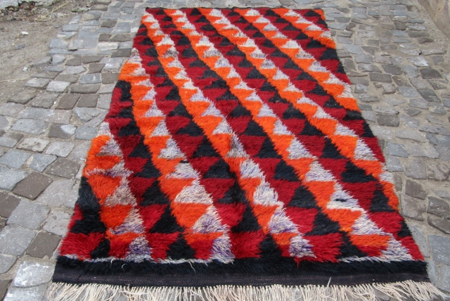 Turkish Anatolian hasanDagı yatak rug Size 260x140cm