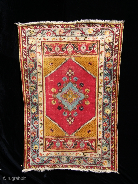 anatolian piece with brilliant colors