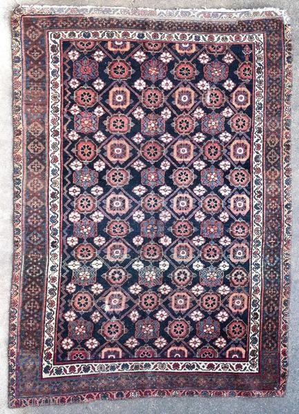 Hamadan rug, Kurdish.