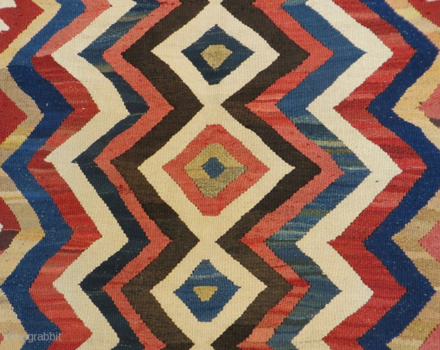 PERSIAN wonderfully  dızayn KURDISH KILIM  280 X 145  cm