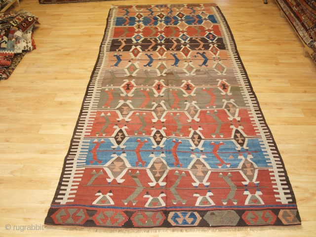 Antique Turkish Konya Kilim.