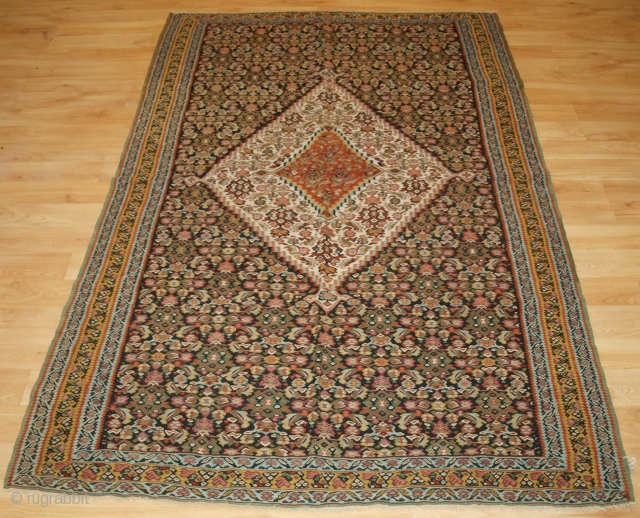 Size: 6ft 9in x 4ft 4in (205 x 132cm). www.knightsantiques.co.uk 