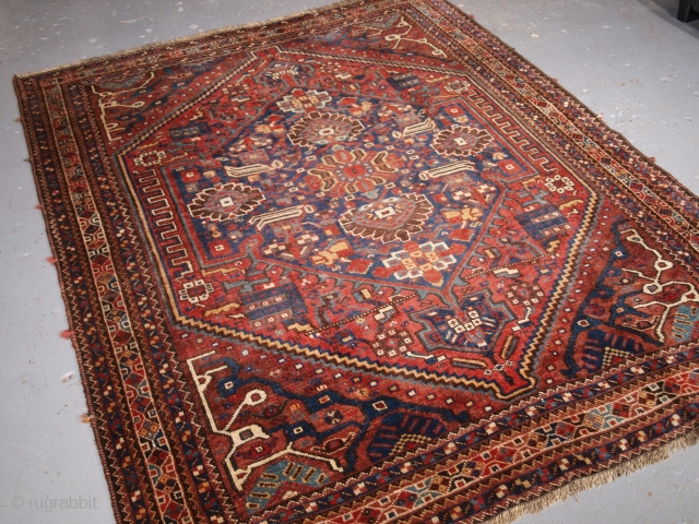 Size: 6ft 11in x 5ft 8in (210 x 172cm). Click the link www.knightsantiques.co.uk to view more items. 