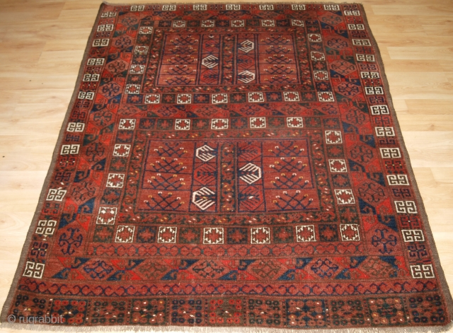 Antique Ersari Turkmen ensi of traditional design with excellent colour. www.knightsantiques.co.uk 
