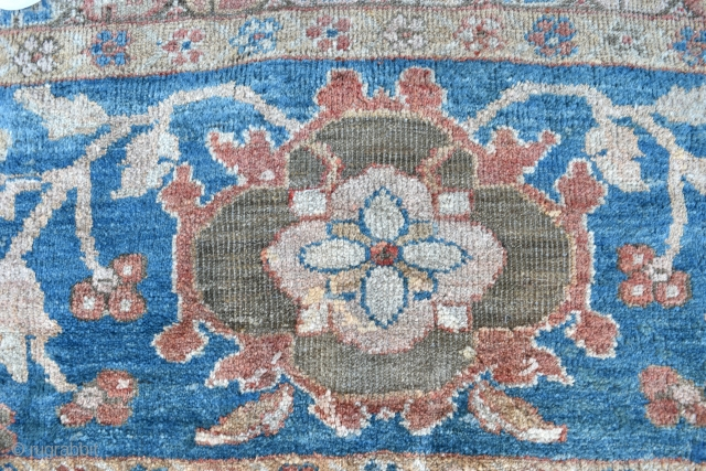A very large antique carpet from the coveted Ziegler and Co workshop in Arak. 