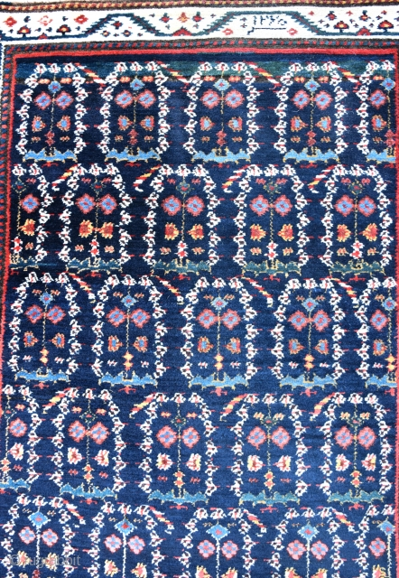 An antique North West Persian runner with good dyes and wool, cut, virtually invisibly, in full pile. Solid, heavy antique runner, deep cleaned and mothproofed. Circa 1870s. 499x76cm