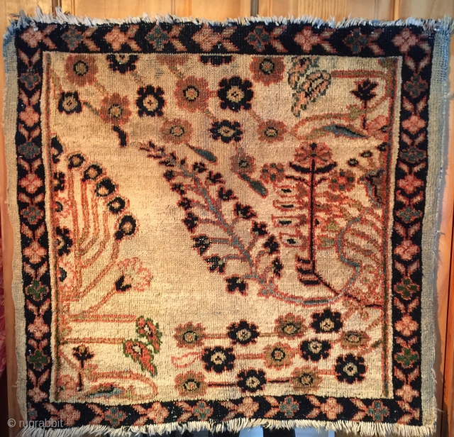"Antique Sampler 2'4""x2'4'"