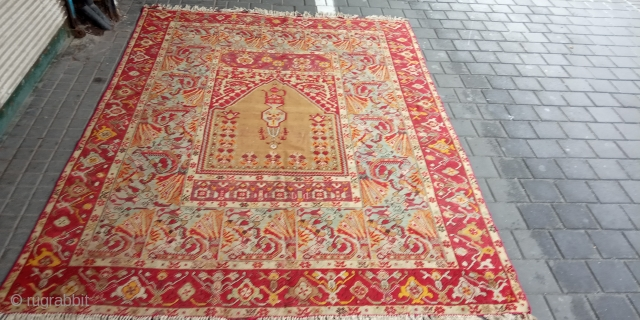 Prayer rug turkey mint condition size:230x170-cm please ask