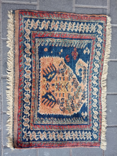 Persian afshar size:58x40-cm please ask