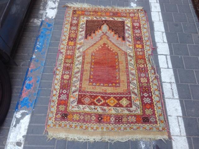Prayer turki rug size:140x92-cm ask