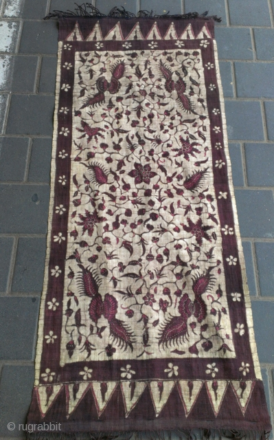 Size :  120x50-cm   Indonesian textiles ?  Ask