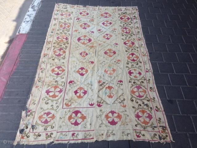 Suzani antiqe size : 187x113-cm  good price ask