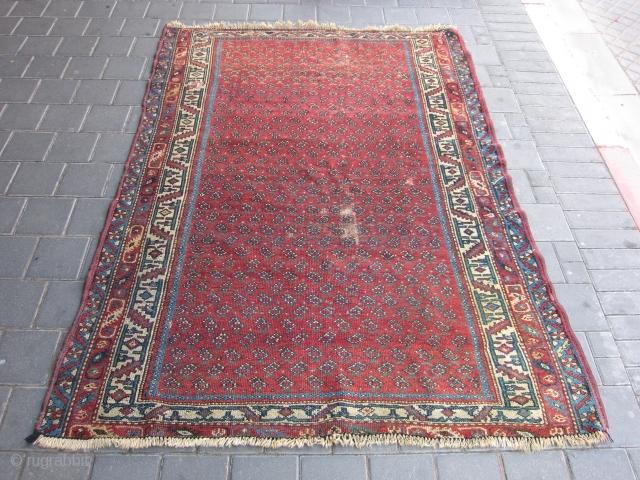 CAUCASIAN or turki rug size:170x127-cm / 66.9x50-inches