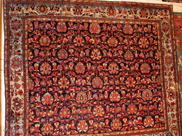 Antique Malayer carpet.