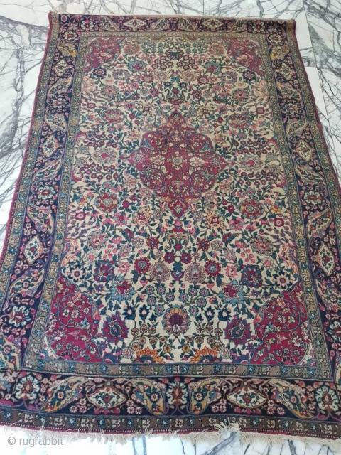 Nice, old Teharan rug  P.O.R