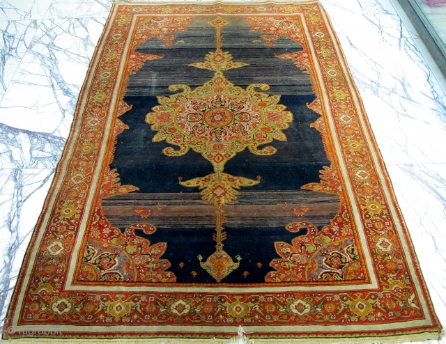 Nice,unusual Malayer Rug