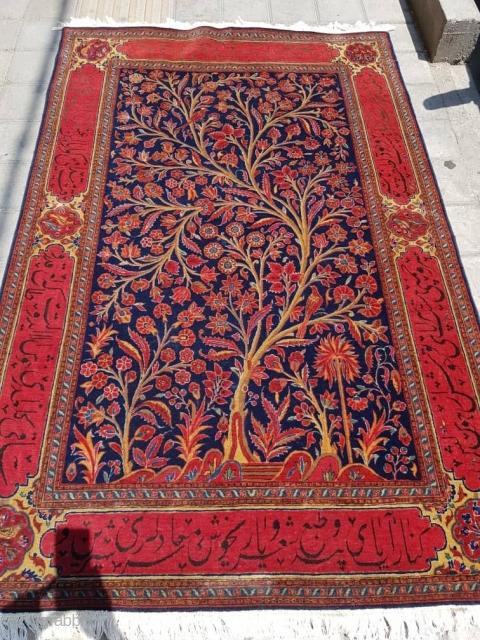 Nice old Kashan rug  P.O.R