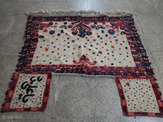 Antique Qashqaee horse cover   P.O.R