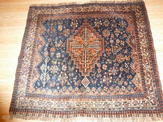 Qashqai 150x130cm, not common size, good condition, beautiful piece