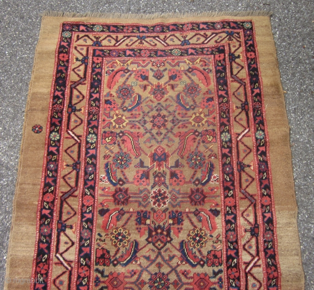ANTIQUE SARAB HAMADAN LONG RUG