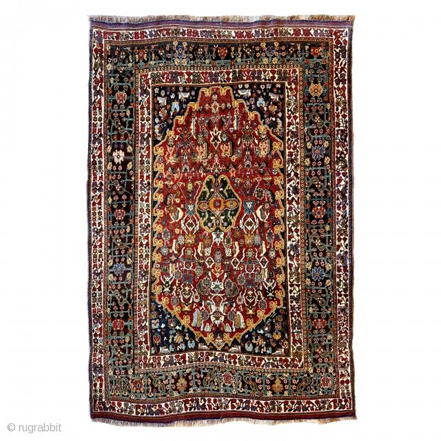 Qashqai Qashquli cm 218x146 in original condition.