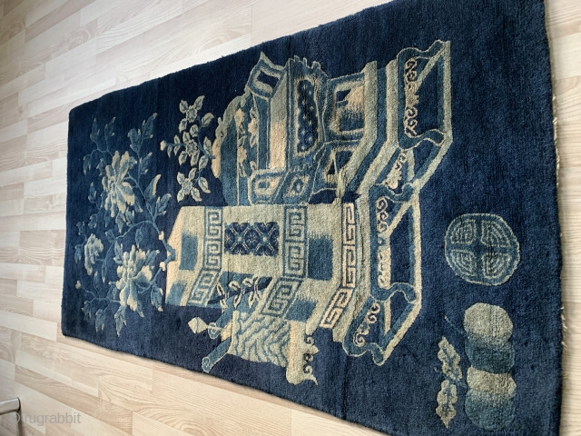 Antigua Chinese rug size 144x77 cm , very nice condishen 