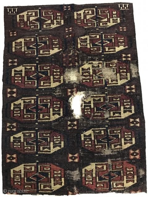 Türkmen Fragment carpet 71x51 cm